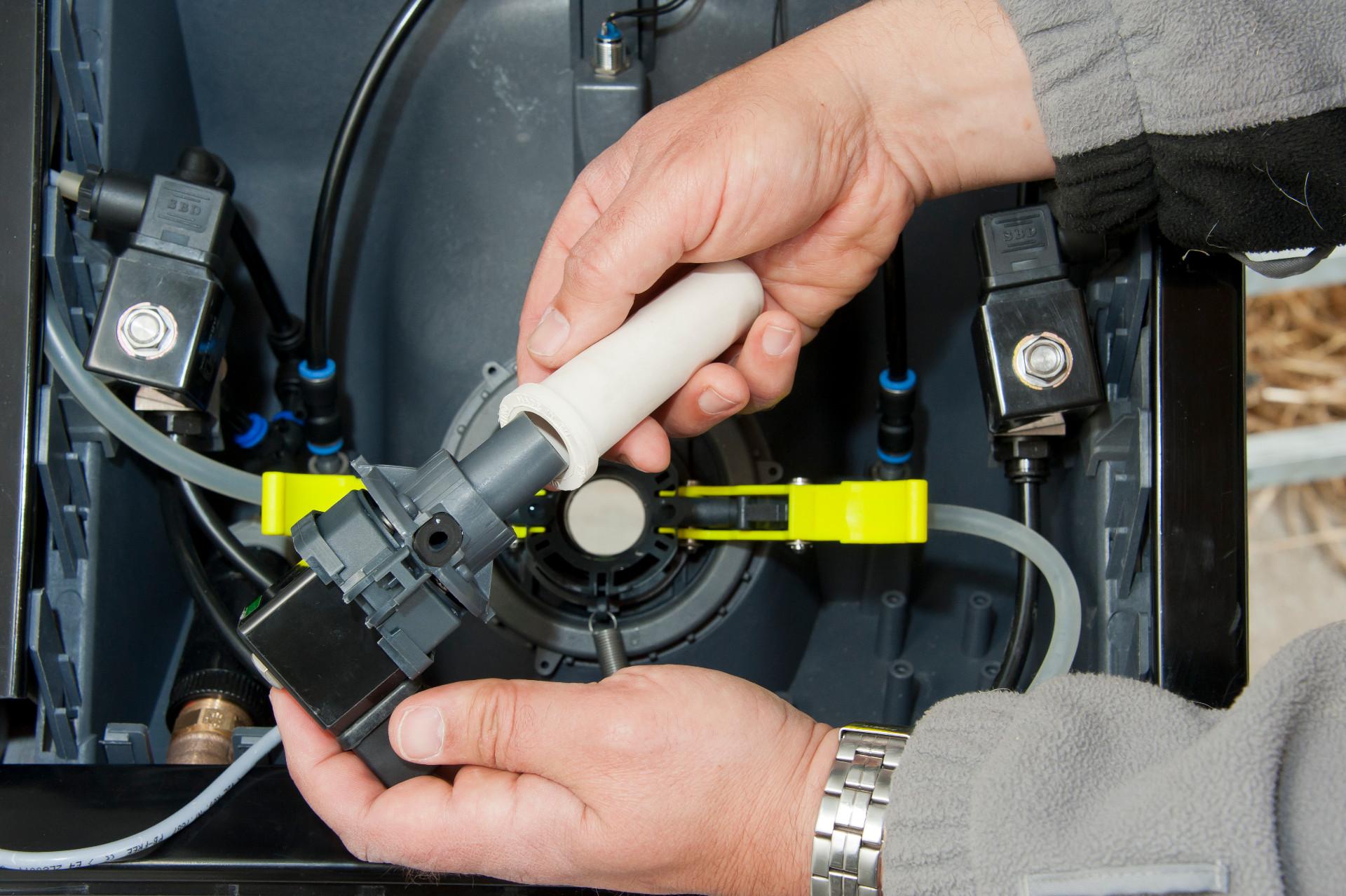 Nuckelschnellverschluss: Der Nuckel lässt sich mit einem Handgriff kinderleicht in Sekunden wechseln.
