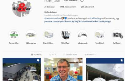 Dieses Bild zeigt einen Ausschnitt aus dem Instagram-Account von Holm & Laue.