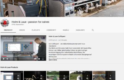 Dieses Bild zeigt einen Ausschnitt aus dem Holm & Laue YouTube-Kanal.
